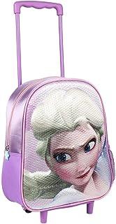 2100002660 Mochila Carro Infantil 3D Frozen, Morado, 31 cm