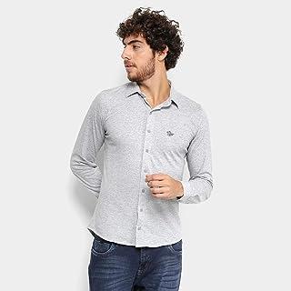 Camisa Manga Longa Rg 518 Slim Masculina