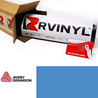 Avery SW900 612-O Gloss Smoky Blue Supreme Wrapping Film Vinyl Vehicle Car Wrap Sheet Roll - (12