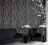 Stencil Bosque Encantado plantilla decorativa reusable para pintar con efecto papel tapiz