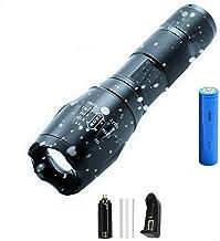 Zaklamp LED zaklamp 12000lm Ultra heldere waterdichte fakkel T6 / L2 / V6 camping lichten 5 modi zoombaar licht met 18650 ...
