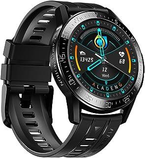 DMNSDD Smartwatch, ALD3 Infrarrojo Medición de la Temperatura Corporal Bluetooth Llamada frecuencia cardíaca Podómetro Sma...