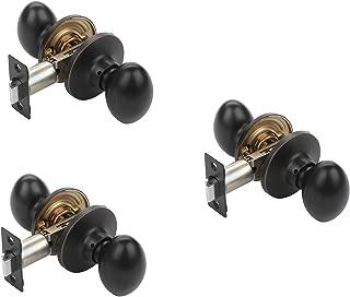 bronze oval door knobs