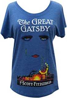 Women's Literary Book-Themed Dolman Sleeve Tee T-Shirt