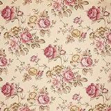 Fabulous Fabrics Dekostoff Ottoman Rosen – Hellbeige —