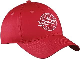 Joe's USA Koloa Surf Thruster Logo Curved Bill Snapback Baseball Caps