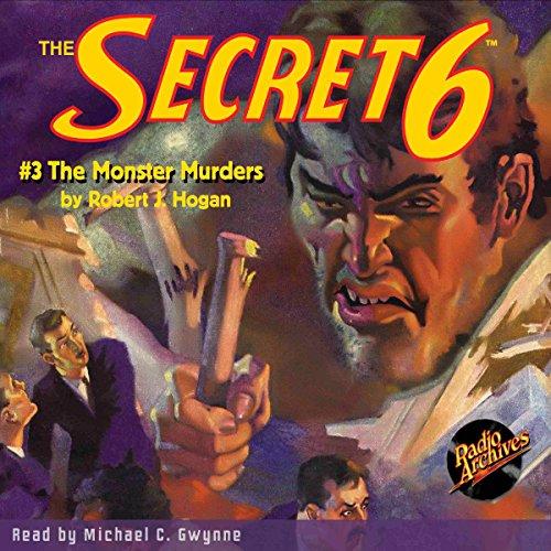 The Secret 6 #3, December 1934 audiobook cover art