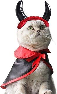 2208ebe04b90b LAEMILIA Costume Chien Chat Halloween Noël Déguisement Vêtement Cadeau pour  Anumaux Anniversaire Nouvel an (comme