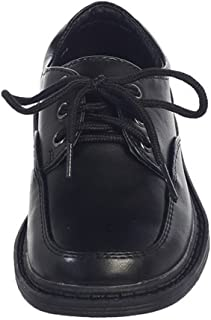 iGirldress Matte Oxford Boys Formal Special Occasion Dress Shoes