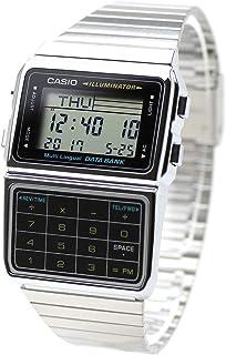 メール便でお届け・DATA BANK データバンク CASIO カシオ DBC-611-1 (DBC-611-1JFの逆輸入モデル)腕時計 電話帳 計算機 電卓 DBC-611-1 シルバー 銀 メタルバンド ステンレス [並行輸入品]