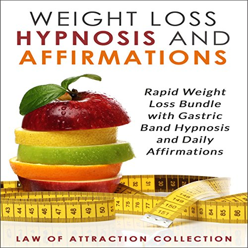 Weight Loss Hypnosis and Affirmations audiobook cover art