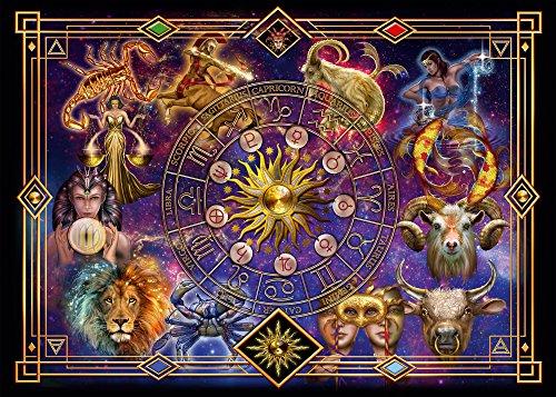 Schmidt Spiele Puzzle 59356 Puzzle 1.000 Teile, Ciro Marchetti, Sternzeichen