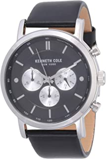 Kenneth Cole Casual Watch For Men Analog Leather - KC50502002