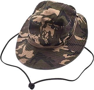 Plegable Secado R/ápido Sombreros de Acampada y Marcha para Hombres Mujeres TAGVO Sombrero de Sol con Cubierta de Cuello Desmontable Protecci/ón UPF 50 Sombreros y Gorras de Pescador Transpirables