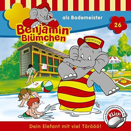 Benjamin als Bademeister cover art
