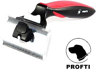 Cepillo para perros deShedding, de Profti, cuidado del pelaje, para pelo largo/