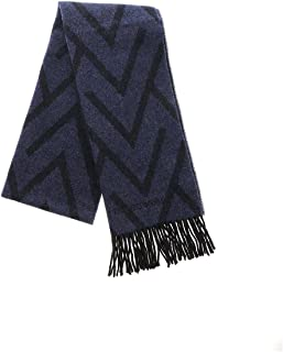 Luxury Fashion | Emporio Armani Mens 6250709A39657235 Blue Scarf | Fall Winter 19
