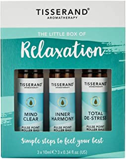 """Tisserand""""The Little Box of Relaxation"""" 3-Pieces Kit, 30 ml Pack of 3"""
