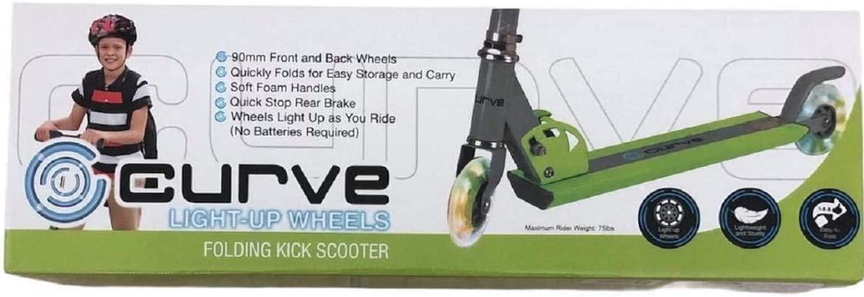 Curve 2 Wheel Kids Light Scooter Up Regular discount Max 90% OFF