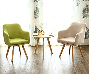 Office Desk Chair Home Computer Chair Office Chair, Lift Chair Swivel Chair Fabric Boss Chair, Simple Leisure Chair(Color:Bro