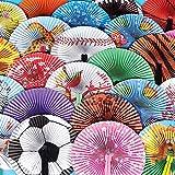 Rhode Island Novelty 10' Folding Fan Assortment | 4 Dozen