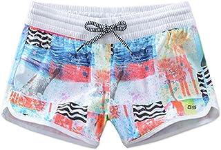 a5efea8962a0b GSOU SNOW Women s Floral Printed Beach Shorts Summer Elastic Waist Board  Shorts