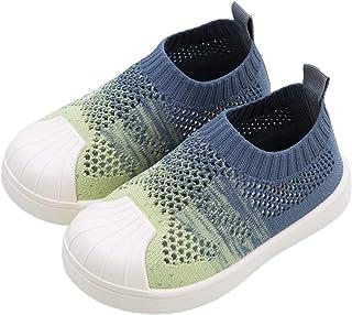 DEBAIJIA Scarpe per Bambini 1-7 T Baby Walking Sneakers Graduale Cambiamento Colore Suola Morbida PVC Materiale Antiscivol...