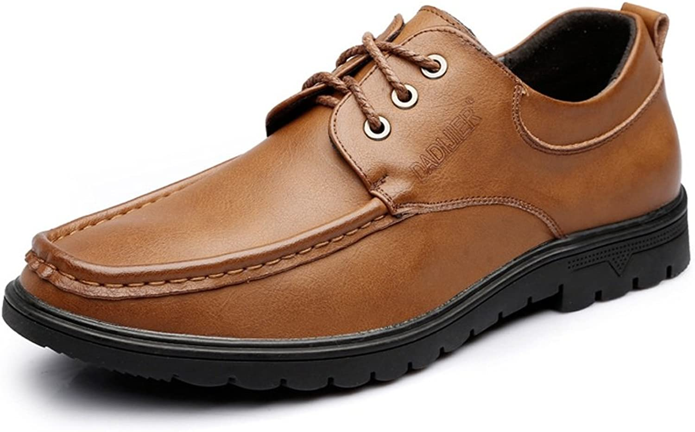 13f91d55740868 M auml nner Loafers Loafers Loafers Lace Up Echtes Leder Business Oxfords  984026