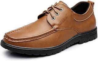 [LILI] メンズ ビジネスシューズ 滑り止め 通勤 レザー 紳士用 シューズ 男性靴 フォーマルシューズ