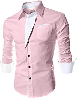Berry Collection Men Slim Fit Casual Shirt