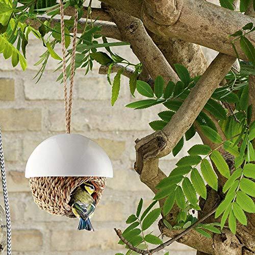 Eva Solo Vogel-Shelter Vogelhaus aus Porzellan für kleine Vögel