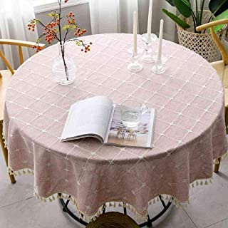 Modern Rectangle Tablecloth Decoration Wear Resistant and Durable Table Cloth Dust Proof Kitchen Table Cover Light Gray Ci...