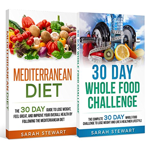 30 Day Challenge     30 Day Mediterranean Diet, 30 Day Whole Food Challenge              By:                                                                                                                                 Sarah Stewart                               Narrated by:                                                                                                                                 Kathy Vogel                      Length: 3 hrs and 20 mins     Not rated yet     Overall 0.0