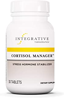 Cortisol Manager - Integrative Therapeutics - Sleep, Stress, and Cortisol Support Supplement* with Ashwagandha, Magnolia, ...