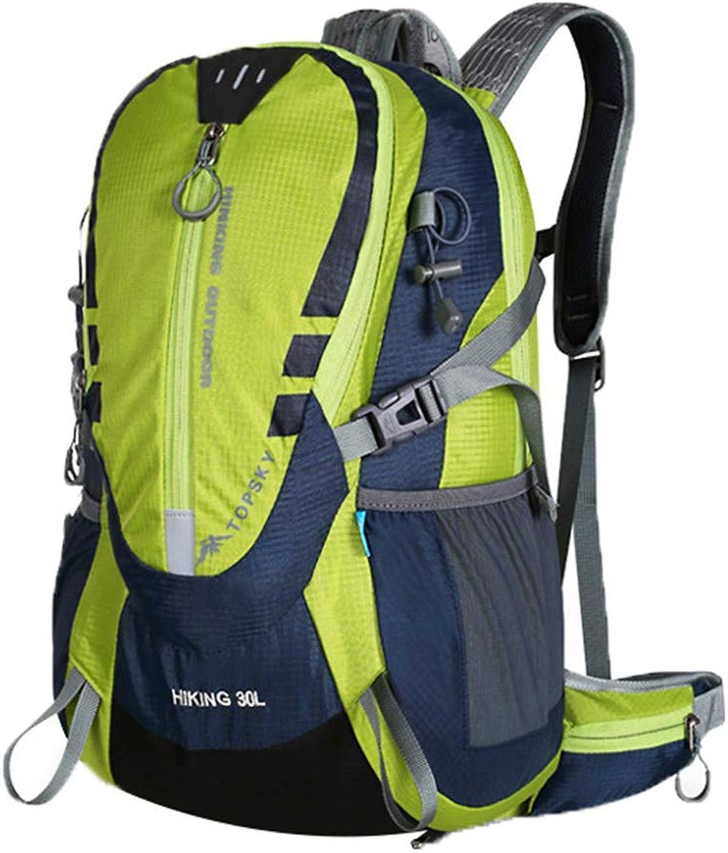 LLDE Wandertasche Herren Hiking Backpack Touristen Bergsteigertasche Nylon Ruckscke Gro Campingrucksack Outdoor