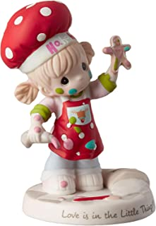 Precious Moments Love is in The Little Things Bisque Porcelain Girl 191030 Figurine, One Size, Multi