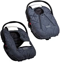 Best Cozy Cover Premium Infant Car Seat Cover (Charcoal) with Polar Fleece - The Industry Leading Infant Carrier Cover Trusted by Over 6 Million Moms for Keeping Your Baby Warm Review