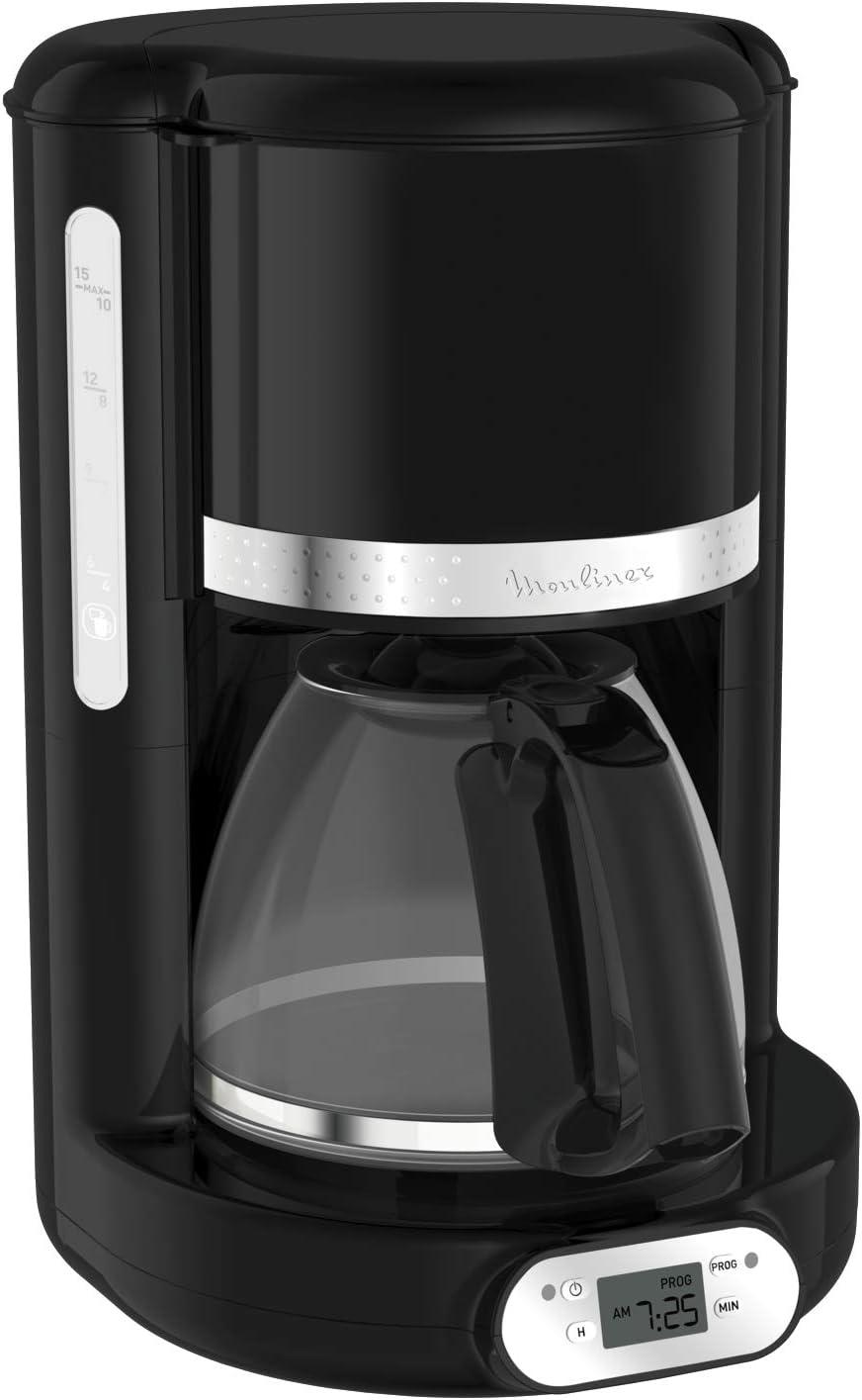 Moulinex Soleil - Cafetera con filtro programable para cafetera FG380B10