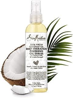 Shea Moisture 100% Virgin Coconut Oil Daily Hydration Finishing Oil Serum