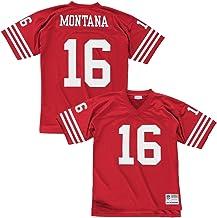 Mitchell & Ness Joe Montana San Francisco 49ers Throwback NFL Trikot Rot