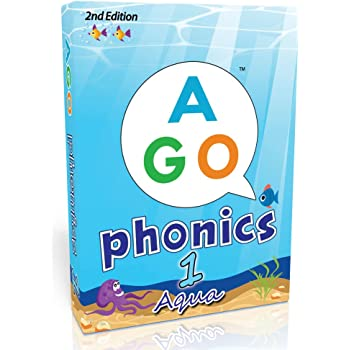 AGO フォニックス アクア レベル1 第2版 英語 カードゲーム 9780994124159