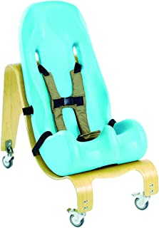 soft touch sitter with mobile base