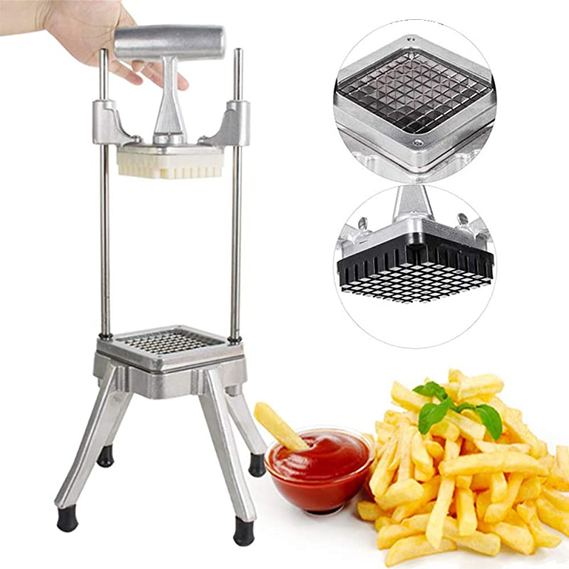 Stainless Steel Restaurant Commercial Potato Vegetable Fruit Dicer Onion Tomato Slicer Chopper Peppers Potatoes Mushrooms Professional Quick Slicer Machine 3 5 Days Delivery