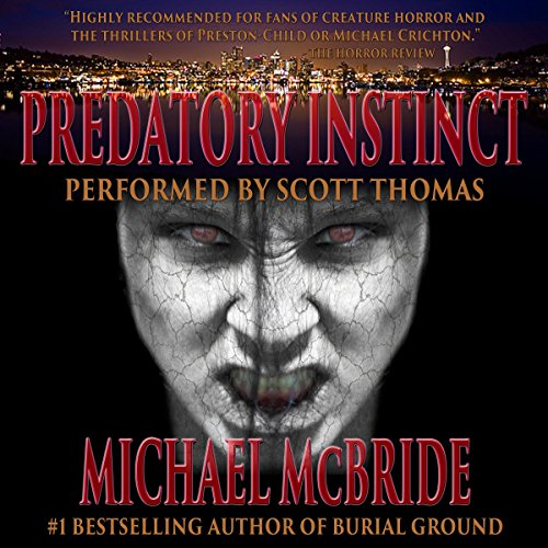 Predatory Instinct audiobook cover art