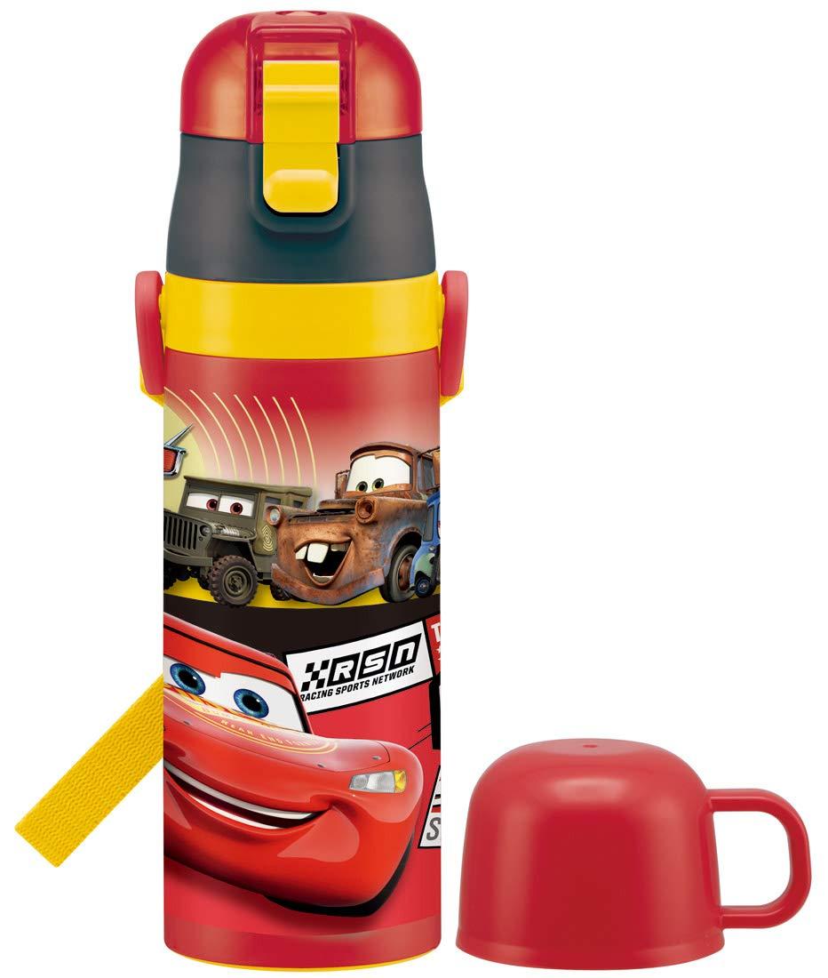 スケーター 子供用 2WAY ステンレス 水筒 コップ付き カーズ 19 ディズニー 430ml SKDC4