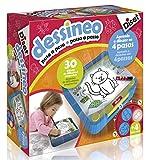 Diset 60186 - Dessineo (Paso a paso), 3 a 6 años , color/modelo surtido