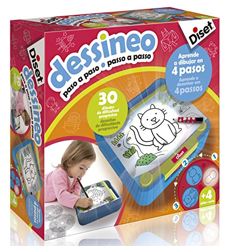 Diset 60186 - Dessineo (Paso a paso), 3 a 6 años
