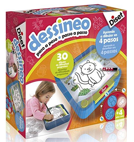 Diset 60186 - Dessineo Paso a paso
