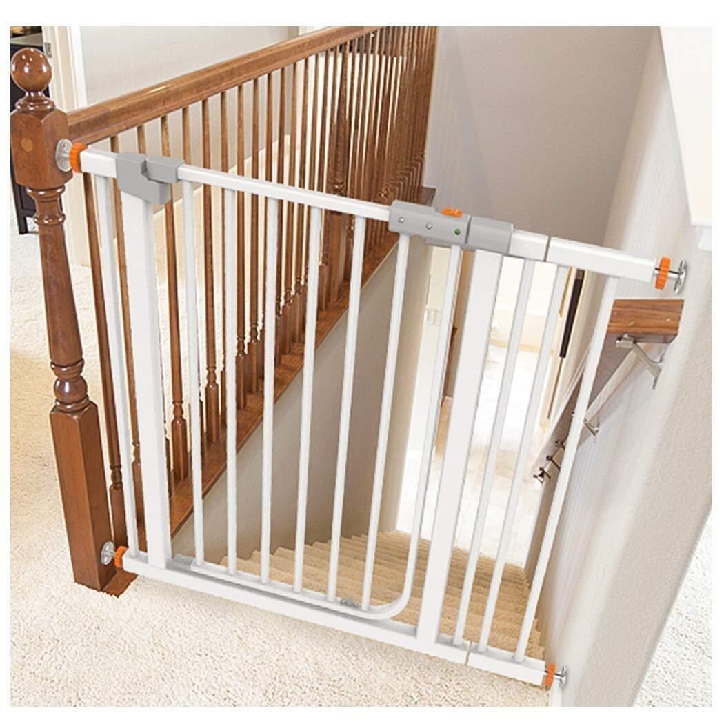 Puerta de seguridad Extra ancho seguridad del bebé Puertas de Umbral Walk Thru cerca del perro