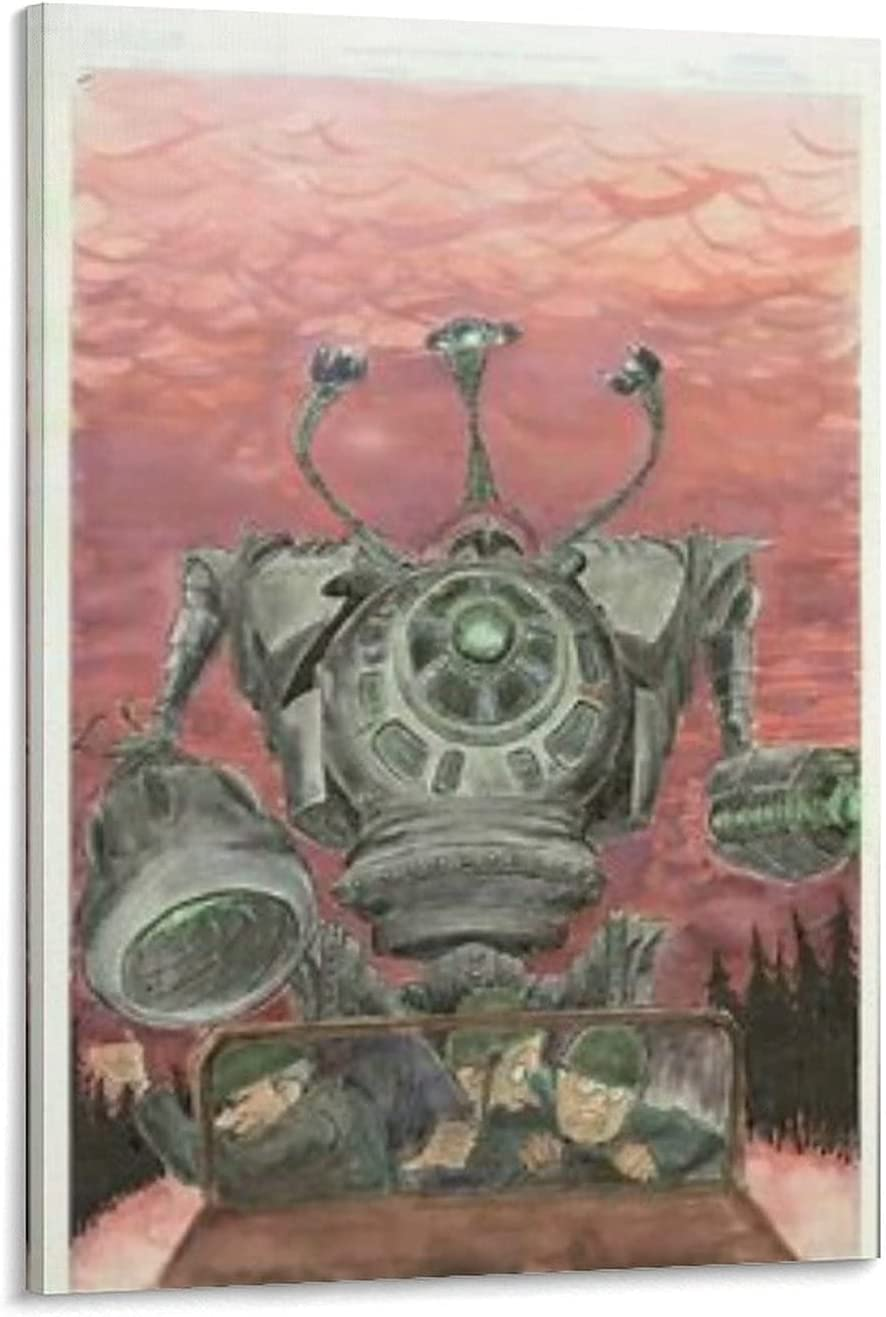The Iron Giant Colorful Pictures Modern Surprise price Popular brand Painting Canvas Wall Art